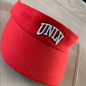 UNLV Visor. Red. Nike DRI-FIT. New w/o tags